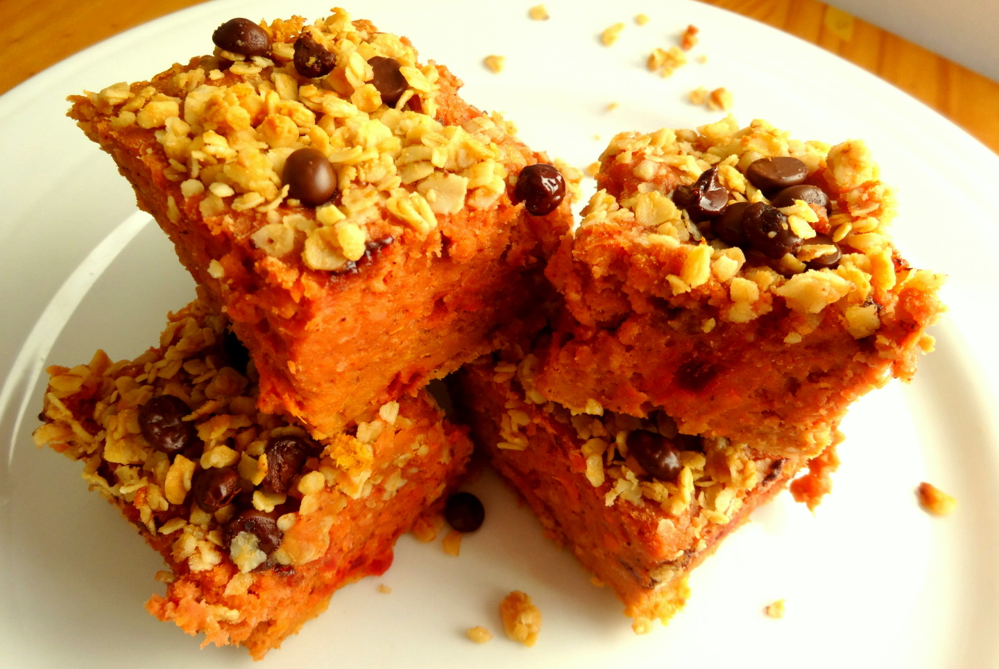 Gluten Free, Dairy Free, Beetroot Protein Blondies